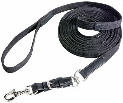 BUSSE Longe DIANA Lungeing line Cotton girth Lunging belt Strap 8,5 m long