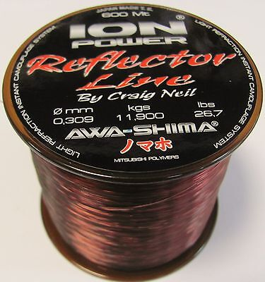 AWA-SHIMA ION POWER REFLECTOR 600mt. 0.22 fishing monofilament