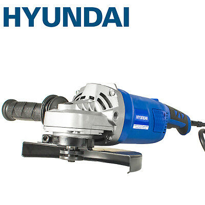 """Hyundai Electric Angle Grinder Corded 230mm 9"""" Disc 230V Heavy Duty HY2157"""