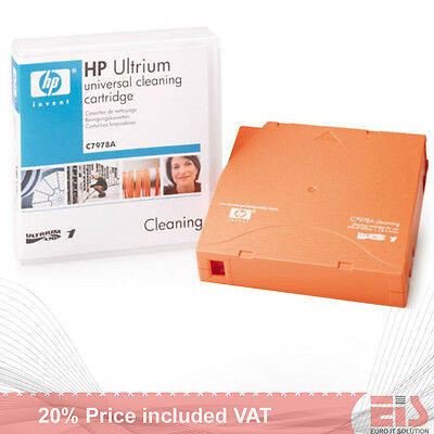 HP LTO Ultrium Cleaning Cartridge tape C7978A (£32 ExVAT)