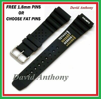 20Mm 22Mm 24Mm Black Nd Time N.d. Limits Divers Watch Strap Polyurethane Rubber
