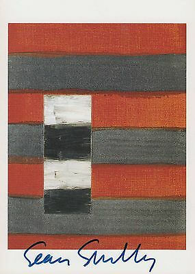 SCULLY - Sean Scully - original signiert - signed - 11