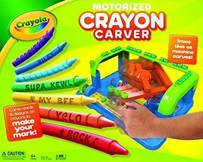 crayola crayon carver set coloring pictures kids toys games draw art