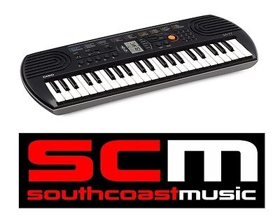 44 Key CASIO KEYBOARD SA77 BRAND NEW IN BOX with 5 YEAR WARRANTY P+H INCLUDED!