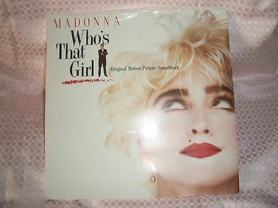 LP  Madonna - Who's That Girl ANNO 1987 SIGILLATO