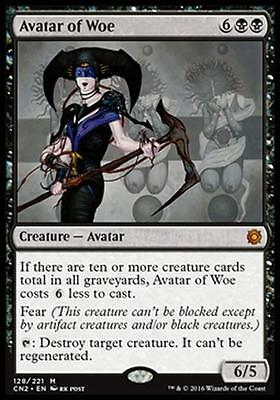 AVATAR DELLA DISPERAZIONE - AVATAR OF WOE Magic CN2 Mint