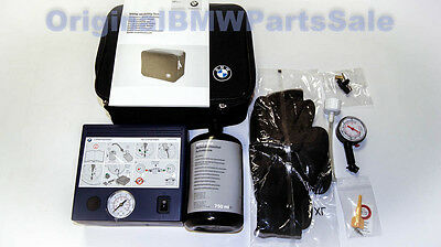 Genuine BMW Tire Mobility Set with Air Compressor Tyres Repair Kit