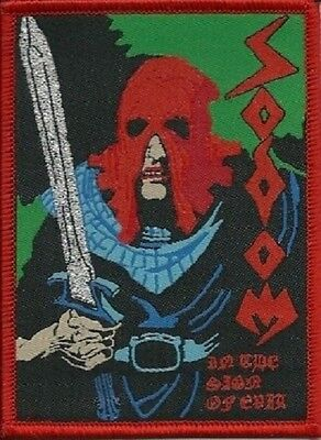 SODOM - In The Sign of Evil - Woven Patch / Aufnäher