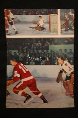 Lot of 5 Star Weekly & Weekend Magazine Pages Vintage Hockey Horton, Hail, Hall