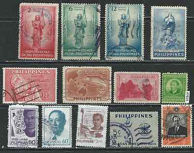 #7614 PHILIPPINES Lot of Used Stamps