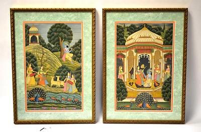 Two Framed India Paintings Lot 137