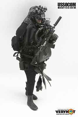 Navy Seal USSOCOM UDT Utility  Belt 1//6th Scale Accessories by Very Hot Toys