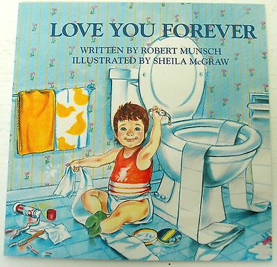 Love You Forever Robert Munsch picture story book kids