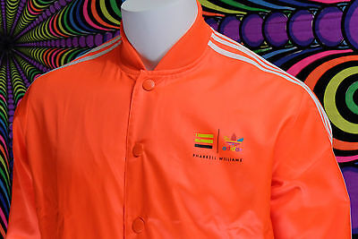 ADIDAS x PHARRELL TENNIS JACKET ORANGE JACKE GR XL SAMMLER (supercolor track top