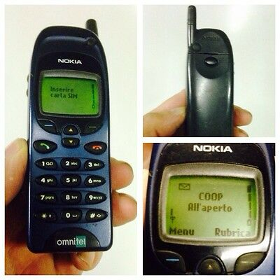Nokia 6150 Works Vintage Brick Mobile Cell Phone Rare Retro Collectable Sammler