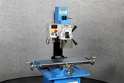 WEISS VM-25L Bench Top Mill MILLING MACHINE, BRUSHLESS, BELT DRIVE Motor