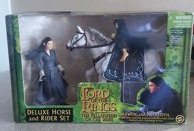 The Lord Of The Rings Deluxe Horse And Rider Set