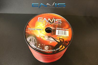 16 Gauge 1000 Ft Red Black Zip Wire Awg Cable Power Stranded Copper Clad Ee