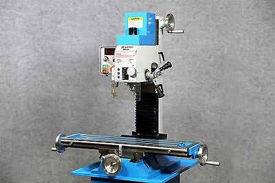 WEISS VM-32L Bench Top Mill MILLING MACHINE, BRUSHLESS, BELT DRIVE Motor
