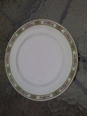 Alfred Meakin Dinner Plate Clifton Rose Pattern China 9 Inch England Vintage
