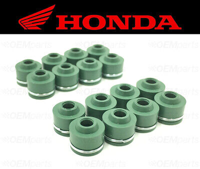 Set of (16) Intake & Exhaust Valve Stem Seals Honda (See Fitment Chart)