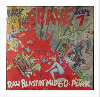 VA. BACK FROM THE GRAVE VOL. 7 (LP) RARE MID 60s GARAGE PUNKERS ♪♪HEAR♪♪