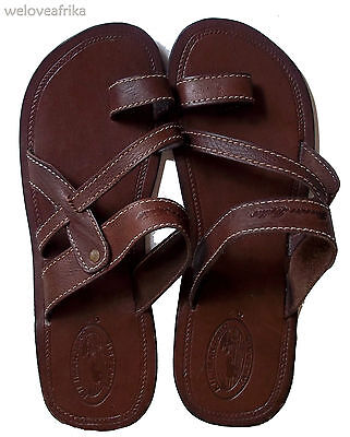 African Leather Masai Ethnic Mens Sandals, Handmade Tribal Birthday Gifts