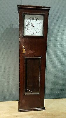 Antique Cased Electric Master Clock