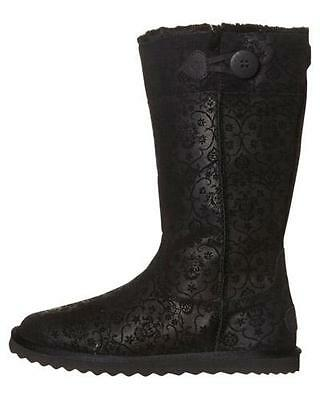 Rip Curl WINTER PARK Womens Size 11 UGG BOOT Winter Shoes Slippers - Black