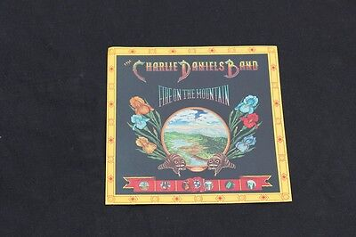 ***charlie Daniels Fire On The Mountain Vintage Music Sticker! ***