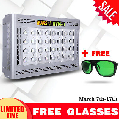 Mars Pro II Epistar 160 LED Grow Light Best for Veg Flower Plant Hydro Lamp 386W