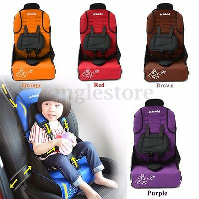 Safety Children Infant Baby Toddler Car Seat Booster Carrier Pad Portable Chair