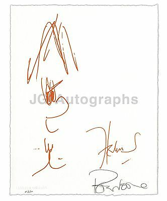 Herman's Hermits - Peter Noone Autographed Ltd Edition of 10 - Sketch Art Print