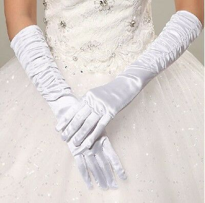 Women's Cosplay Party Evening Opera Wedding Bridal Gloves Prom Dress Accessories