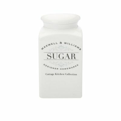 NEW Maxwell & Williams Cottage Kitchen Sugar Canister 1L