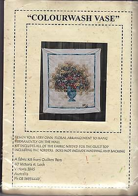 COLOURWASH QUILT KIT - 'Colourwash Vase' - (Quilters Barn)
