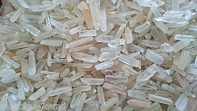 1xPc Clear Quartz Point 100% Natural Earth Crystal - Orgone/Luminary Energised
