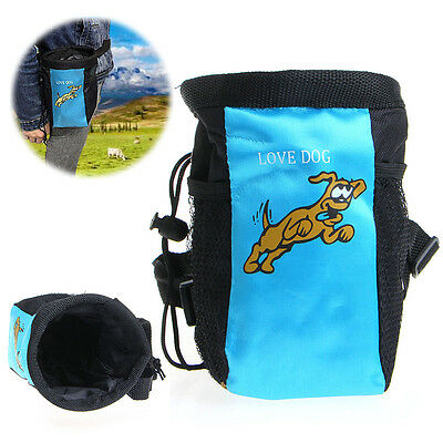 Pet Dog Puppy Training Treat Snack Bag Feed Bait Pouch Belt Phone Pocket Holder