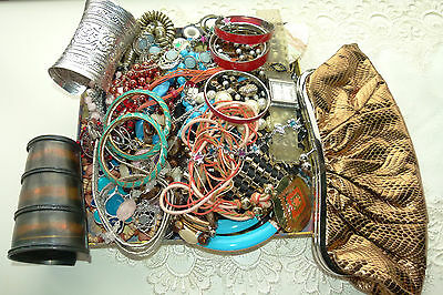 Jewellery Bulk Lot Over 50 Pieces  Mixed Jewellery Great Value Lot 59 *bargain*