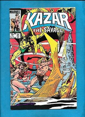 Ka-Zar the Savage #31 Marvel Comics April 1984