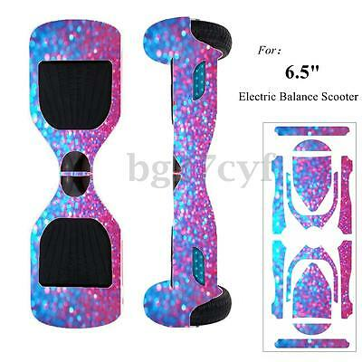 """Cover Skin Protective Wrap Sticker Decal For 6.5"""" Electric Balance Scooter New"""