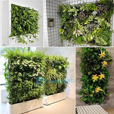 56 Pockets Green Herb Hanging Wall Planter Vertical Garden Indoor Outdoor Decor