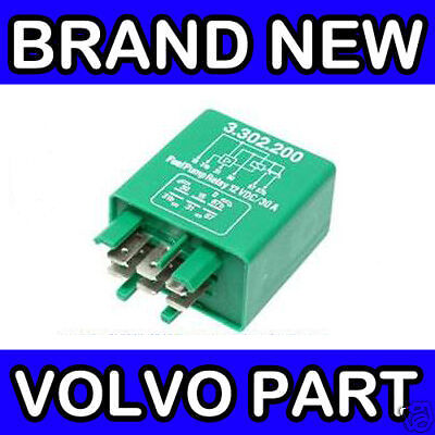 VOLVO 240 245 260 265 740 760 940 (Green) FUEL PUMP RELAY (JETRONIC)