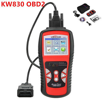 KW830 AL519 CAN Car Auto OBD2/EOBD OBDII Diagnostic Scan Tool Fault Code Reader
