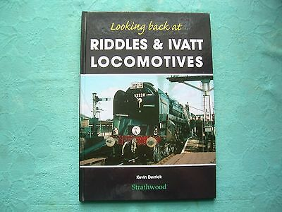 Looking Back at Riddles & Ivatt Locomotives Inc. Austerity Design, Railway Book