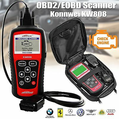 KW808 OBD2 Scanner CAN Engine Reset Tool KONNWEI Car Diagnostic Code Reader UK