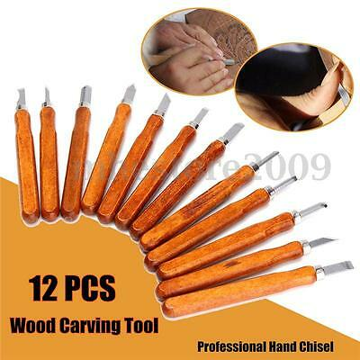 Latest Wood Carving Hand Chisel Woodworking Professional Lathe Gouges Tools
