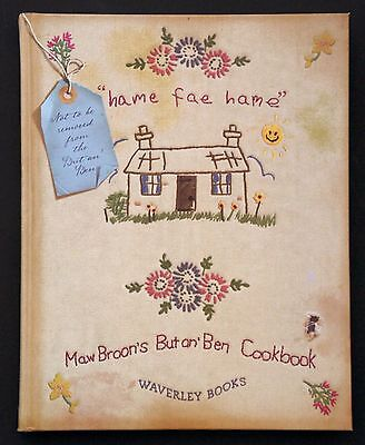 MAW BROON'S BUT AN' BEN COOKBOOK - The Broons (Hardback, 2008) Recipe Book