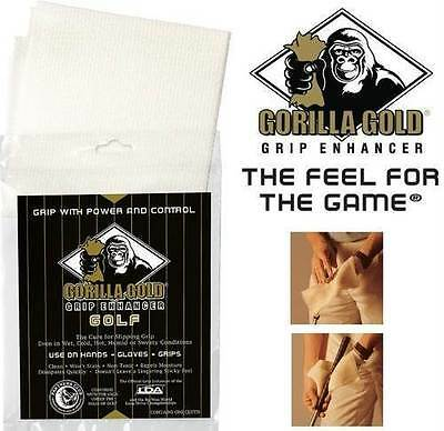 Gorilla Gold Golf Grip Enhancer for Golf Clubs and Other Wet Weather Sports
