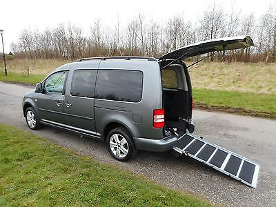 2013 Volkswagen Caddy Maxi Life 1.6 Tdi *ONLY 9K* Wheelchair Disabled Accessible